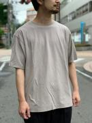 DOUBLE LAYERED S/S TEE コムアーチ