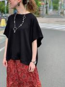 COTTON SILK RIB S/S P/O コムアーチ
